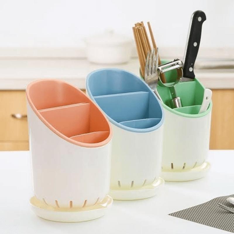 kitchen-utensil-holder-with-drainer